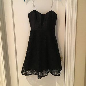 Black Party / Cocktail Dress Mid-Length